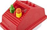 Het huis vormde de Levendige die Gift van het Kleurpotlood van de Doos 3D voor Tekening /Painting wordt geplaatst
