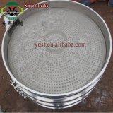 回転式ステンレス鋼の電気産業振動の小麦粉のふるい