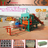 機械に低価格の販売ナイジェリアをする使用のセメントのブロックのための機械を作る専門の製造者Qt5-20のコンクリートブロック