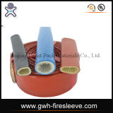 Tuyau en caoutchouc hydraulique tressé du tuyau SAE100 R14/Teflon Hose/PTFE de fil d'acier de douille du feu