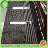 Зеркало Ss 304 украшения оборудования супер вытравило лист металла для панели украшения стены