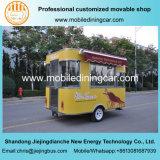 Reboque móvel quente da restauração da venda e do alimento do projeto novo