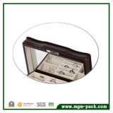 ミラーの宝石箱が付いている高品質の中型ガラス