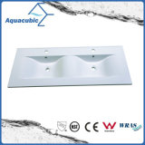 Bacino di marmo artificiale Acb9212 della doppia ciotola