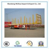 De los Tri-Árboles del transporte del acoplado de la estaca acoplado de madera semi para la venta