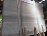 Mármol blanco de madera blanco Polished de Serpeggiante del mármol/de la luz del grano de China