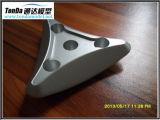 Prototipo rápido del CNC con el material de aluminio anodizado