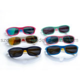 Hot Sell Fashion Cool Sport Wholesale Tr90 Kid Lunettes de soleil