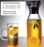 1000ml Borosilicate Glass Water Pot Water Kettle con Lid