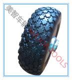 2.50-4 편평한 자유로운 PU 거품 타이어 잔디밭 발동기 바퀴