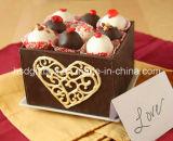 Caja de papel de empaquetado modificada para requisitos particulares suposición del chocolate de la celebración