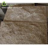 Revestimiento oxidado amarillo de la pared de piedra de la seta del granito G682 para la pared exterior