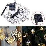 12 LED-Inner-marokkanische feenhafte Solarzeichenkette-Laterne-Licht-Lampe