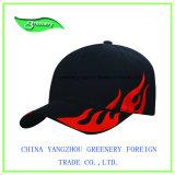 Chapeau promotionnel de sport de base-ball de broderie de flamme de mode