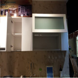 Amerika hoher glatter Küche-Schrank PVC-Thermofoil