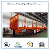 De Semi Aanhangwagen van de Staak van het Merk van Fuwa van tri-assen voor Houten Vervoer