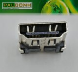 Vertikaler Plug-in 19pin weiblicher HDMI Verbindungsstück für PC / Notizbuch / STB / Fernsehapparat / HDTV / DV / MID / entfernbarer Gedächtnis
