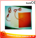 400*400*1.5mm 220V 800W Silicone Rubber Heater Built-in 100k Thermstor