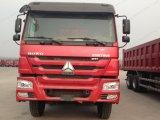 왼손 드라이브 Sinotruk HOWO 8X4 덤프 또는 팁 주는 사람 트럭