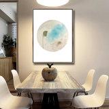 Классическое абстрактное изображение холстины искусствоа картины маслом ландшафта