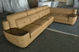 L софа комплектов мебели комнаты формы живущий установил (A29)