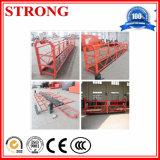 Plate-forme en aluminium suspendue d'échafaudage pour le travail supplémentaire extérieur