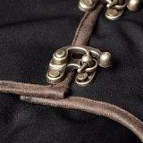 Robe maigre de collier élevé élégant de sorcière de Q-330 Steampunk longue maxi