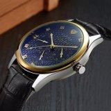 Der Qualitäts-H374 realer Zeiger-eindeutiger Entwurfs-wasserdichte Armbanduhr Mann-der Uhr-sechs