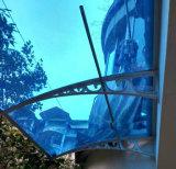 Tampa fixada na parede resistente da chuva do vento moderno para o dossel do balcão