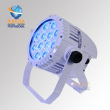 La PARITÀ esterna impermeabile bianca dell'indicatore luminoso IP65 LED di PARITÀ di Rasha 12*10W 4in1 RGBW Alumnium LED di caso può