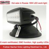 18W 6 het e-TEKEN '' Offroad LEIDENE van uitstekende kwaliteit Licht van het Werk (GT1012-18W)