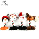 Weihnachtshaustier-Produkt-Haustier-Plüsch-Spielzeug für Hund und Katze