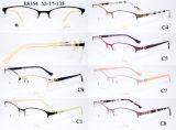 Blocco per grafici del diamante di Eyewear dell'acciaio inossidabile dell'Metà-Orlo Metal Frames di modo della signora (MOD. 354)