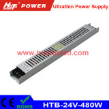 24V20A超薄いLEDの電源またはライトボックスまたは適用範囲が広いストリップ