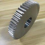 CNC personalizado americano que gira a engrenagem de sem-fim principal do aço inoxidável cinco