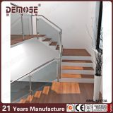 Pasamanos de cristal del panel de la escalera de interior (DMS-B2173)