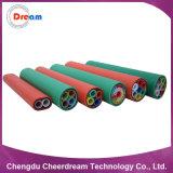Dirigir el tubo soplado aire enterrado del HDPE del cable óptico de fibra