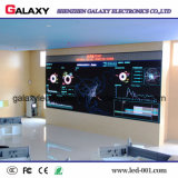 Panneau visuel fixe d'intérieur de haute résolution de mur d'étalage d'écran de panneau de P1.5625/P1.667/P1.923 DEL pour l'étape de TV, contrôlant le centre