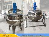 aquecimento 200L elétrico que cozinha a chaleira Jacketed 300L da chaleira