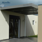 Azotea de aluminio de la pérgola de los pabellones del patio de la cubierta