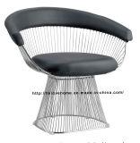 Modern Replica Metal Leisure Restaurant Almofada Outdoor Wire Chair