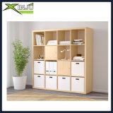 Bookcase 16-Cube деревянный/деревянный дуба хранения
