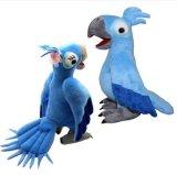Het Stuk speelgoed van het Beeldverhaal van de Pluche van de Vogel van het Karakter van Rio van de film