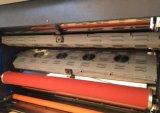 De automatische Machine van de Lamineerder van het Venster van de Film met Elektromagnetische het Verwarmen Eenheid en vlieg-Mes Snijder (xjfmkc-120)