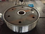 A fábrica projetou a roda de engrenagem customizável