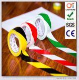 Bande simple et double d'inscription d'étage de PVC de couleur/dispositif avertisseur