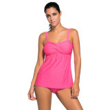Swimsuit de Tankini do balanço 2PCS