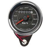 I motocicli modificati forniscono il tachimetro doppio dell'odometro dei retro indicatori luminosi del LED