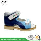 Сандалии предохранения ноги сандалии детей фиоритуры сандалия плоской Semi-Протезная