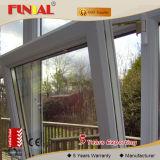 Windowsおよびドアのためのアルミニウムによって組み立てられる縦のスライディングウインドウまたはアルミニウムプロフィール